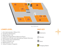 Cal State Dominguez Hills Map by Services Loker Student Union
