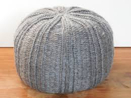 knit a pouf on knitting loom youtube