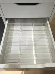 ikea makeup organizer acrylic compact makeup drawer organizer for ikea alex divider insert