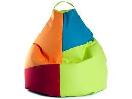 sitzsack für kinderzimmer kindersitzsack xl beanbag grün bunt 70x110 indoor