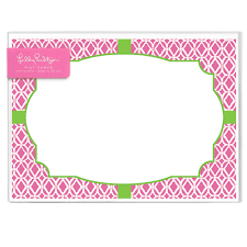bamboo pink correspondence cards by lilly pulitzer paper pearl
