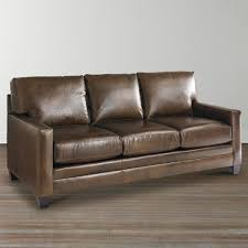 ladson leather queen sleeper sofa bassett home furnishings