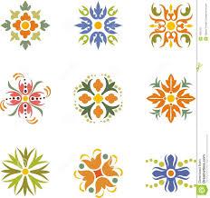 floral dingbats stock photo image 7630150