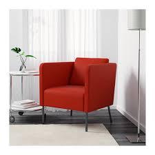 Red Club Chair Ekerö Armchair Skiftebo Dark Blue Ikea