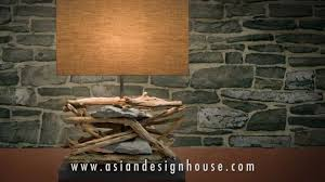 o u0027thentique by asian design house driftwood lighting and wooden