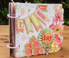 handmade scrapbook albums monday with megan expressions of gratitude small envelopes