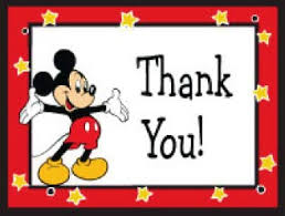 mickey mouse thank you cards ways to thank a cast member elly and caroline s magical moments