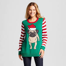 sweater target s pug pullover sweater