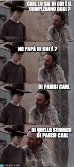 Carl Walking Dead Meme - parisdead carl walking dead meme on memegen