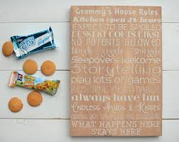 Family House Rules Family Rules Sign Etsy