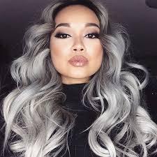 salt and pepper hair colour really easy gray hair colors