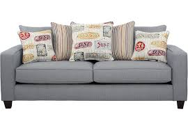 Sofa Bed Rooms To Go by Surfside Blue Sofa Sofas Blue