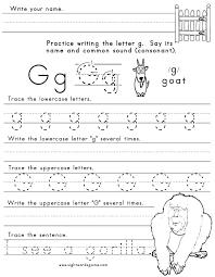 letter g worksheet 1 letters of the alphabet pinterest