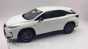toyota lexus rx 200t kyosho samurai lexus rx 200t f sport in white ksr18014w b youtube