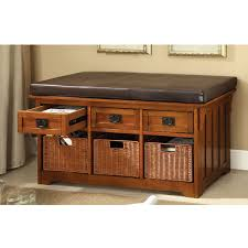 Storage Bench With Drawers Uncategorized Awesome Storage Bench With Drawers Ideas Amish