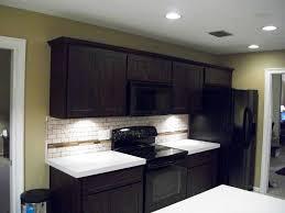 kitchen backsplash ideas for dark cabinets kitchen cabinets ideas
