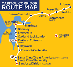 Hayward Bart Station Map traveling by train a review of amtrak capitol corridor u2014 michael