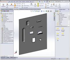 creating your own sheet metal forming tool video solidworks