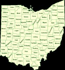 ohio map of cities pages county map