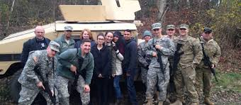 criminal justice and intelligence majors help soldiers with