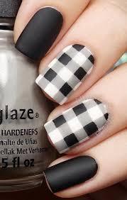 30 stylish black u0026 white nail art designs for creative juice