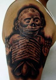 aztec skull tattoo meaning aztec tattoos designs ideas and meaning