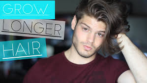 how to grow hair faster u0026 longer men u0027s hairstyle tips youtube