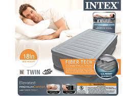 intex beds mattresses inflatable beds air beds at walmart intex pillow rest