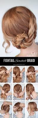 braided hairstyle instructions step by step seashell braid tutorial dutch fishtail braid tutorial hair romance