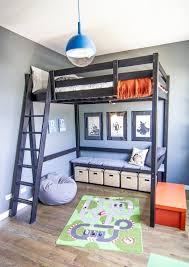 Ana White Camp Loft Bed With Stair Junior Height Diy Projects by Bedroom Impressive Ana White Camp Loft Bed With Stair Junior