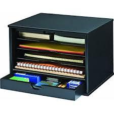 5 shelf desk organizer victor wood midnight black collection 4 shelf desktop organizer