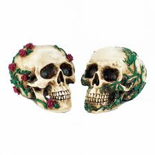 Skull Decorations For The Home Skulls Polyresin Decorated Skull Decor For Home Halloween Party
