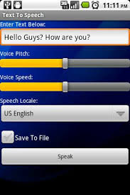 text to speech engine apk text to speech for android free and software reviews
