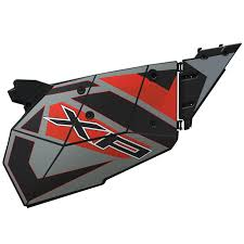 aluminum door graphic titanium metallic polaris rzr