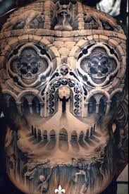 back cathedral tattoos