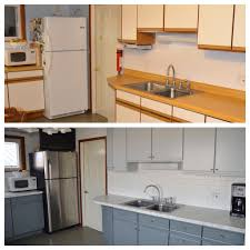 can u paint formica cabinets painting formica cabinets before and after pictures www