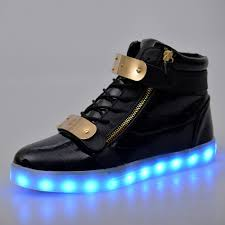 how to charge light up shoes greatjoy led shoes double metal velcro high top light up sneakers