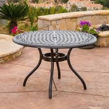 Round Table Patio Dining Sets by Covington Cast Aluminum 5 Piece Outdoor Dining Set With Round