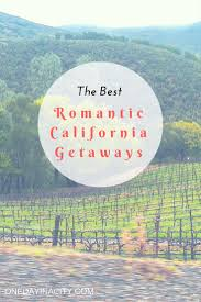 the best getaways in california