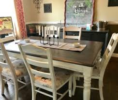 chalk paint farmhouse table diy chalk paint farmhouse table makeover urban contentment