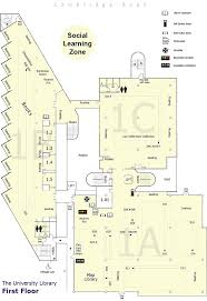 University Floor Plan University Of Portsmouth Library Library First Floor Plan Gif