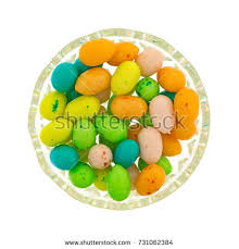 easter egg gum view colorful easter eggs stock photo 731062501