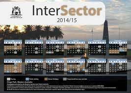 the 2014 15 financial year intersector calendar is now available