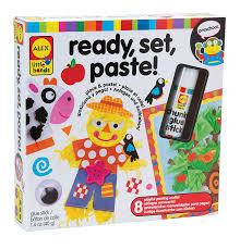 amazon com alex toys little hands ready set paste toys u0026 games