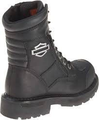 black leather biker boots harley davidson women u0027s sydney 6 inch leather motorcycle boots