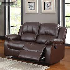 Lazy Boy Leather Sofa by New Brown Leather Sofa Double Recliner Couch Lazy Boy Reclining