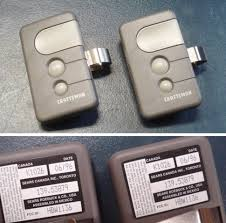 types of garage door remotes craftsman garage doorener remote battery type wageuzi fearsome