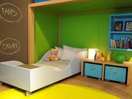 chambre enfant verte enfant dearkids jaune et verte
