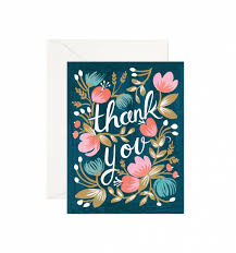 midnight garden greeting card by rifle paper co made in usa