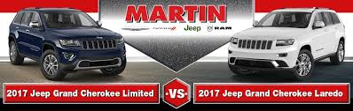 difference between jeep grand laredo and limited 2017 jeep grand limited vs laredo trim comparison
